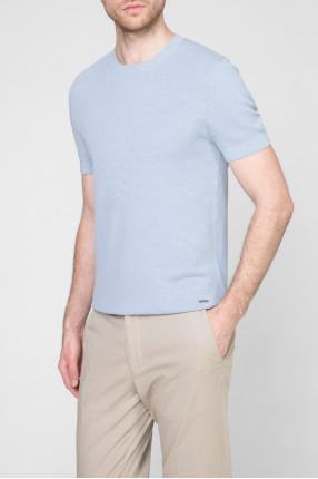 Мужская голубая футболка 1