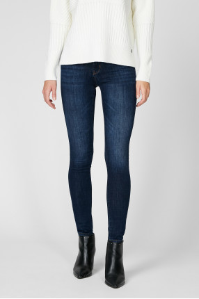Женские синие джинсы Sue Skinny Fit 1