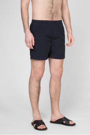 Мужские темно-синие плавательные шорты 1