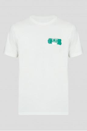 Мужская мятная футболка
