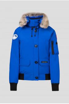Женская синяя пуховая куртка CHILLIWACK