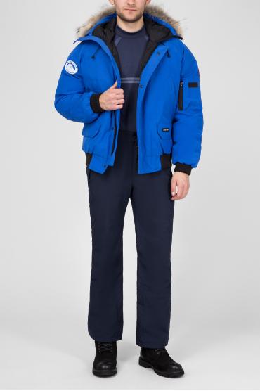 Мужской синий пуховик CHILLIWACK 5