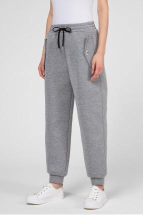 Женские серые спортивные брюки 1