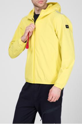 Мужская желтая ветровка 1