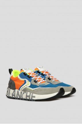 Мужские замшевые кроссовки 1