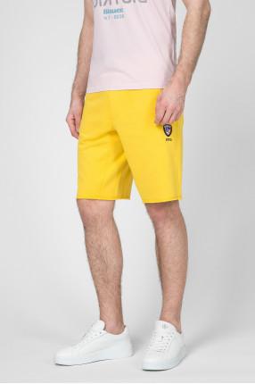 Мужские желтые шорты 1