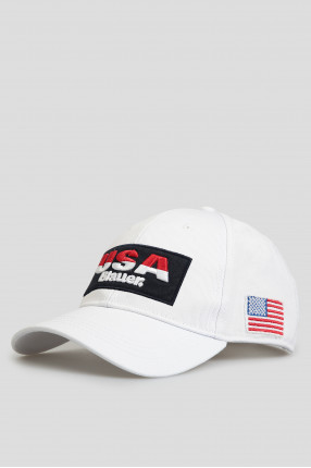 Мужская белая кепка 1