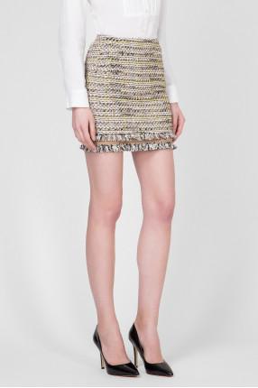 Женская твидовая юбка 1
