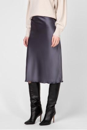 Женская серая юбка 1