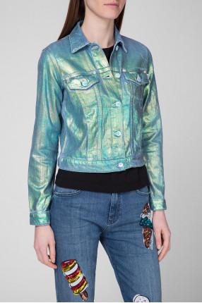 Женская джинсовая куртка 1