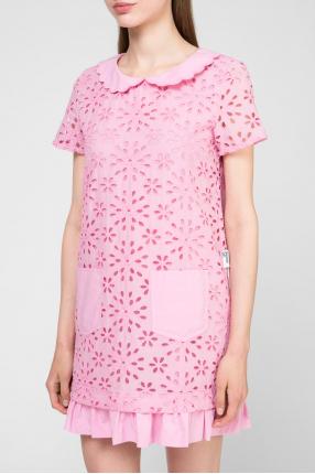 Женское розовое платье 1