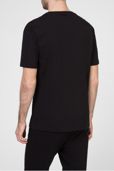 Мужская черная футболка 3