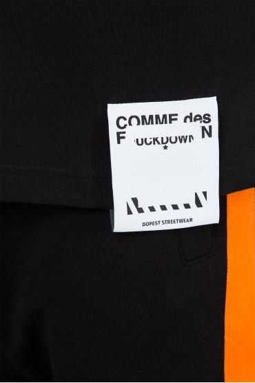 Мужская черная футболка 4