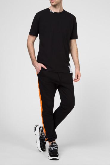 Мужская черная футболка 5