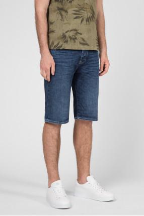 Мужские синие джинсовые шорты 1
