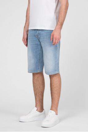 Мужские голубые джинсовые шорты 1