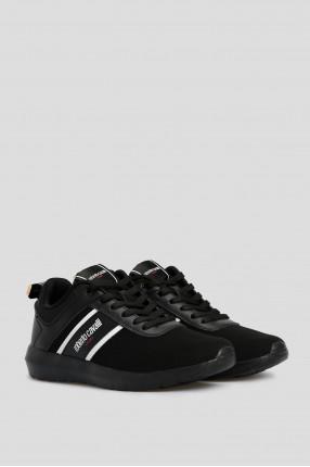 Мужские черные кроссовки  1
