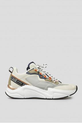 Мужские бежевые кроссовки