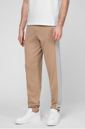 Мужские светло-коричневые кашемировые брюки 1
