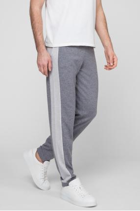 Мужские серые кашемировые брюки 1
