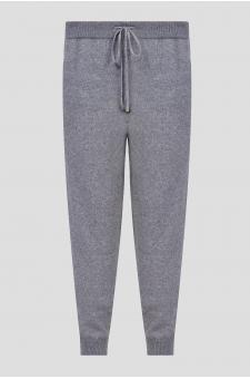 Мужские серые кашемировые брюки