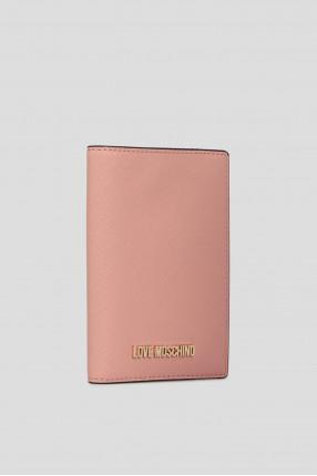 Женская розовая обложка для документов 1