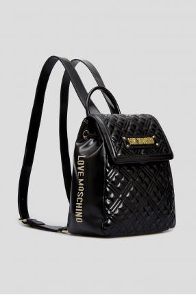 Женский черный рюкзак  1