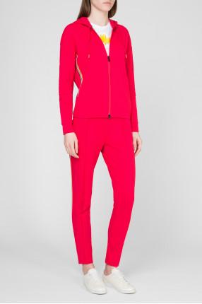 Женский розовый спортивный костюм 1