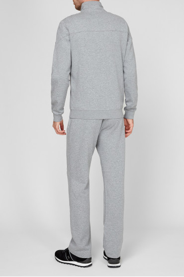 Мужской серый спортивный костюм (кофта, брюки) 3