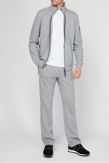 Мужской серый спортивный костюм (кофта, брюки) 5