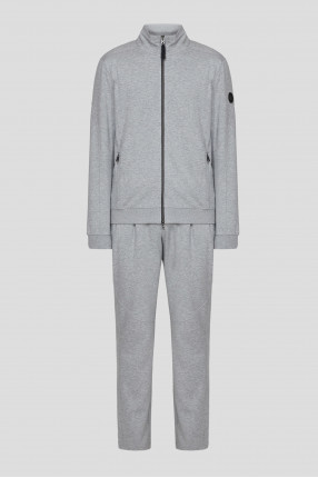 Мужской серый спортивный костюм (кофта, брюки)