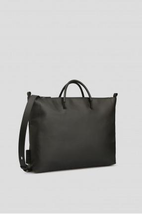 Черная сумка для ноутбука 1