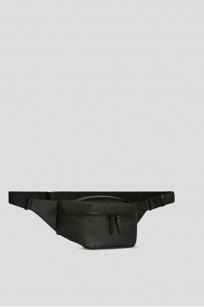 Черная поясная сумка 1