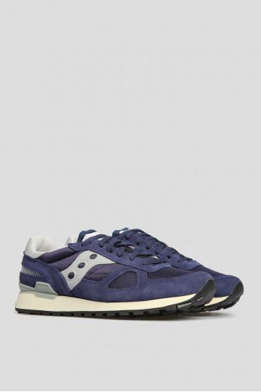 Мужские синие кроссовки Saucony Shadow Original Vintage 70424-3s — Saks 85 5e3be0bb7d4