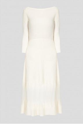 Женское белое платье
