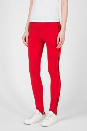 Женские красные спортивные брюки 1
