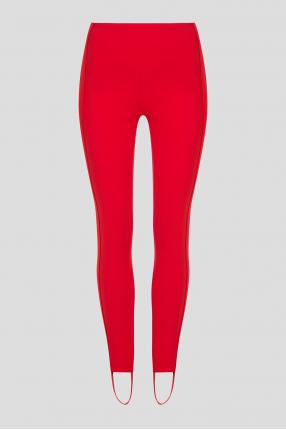 Женские красные спортивные брюки