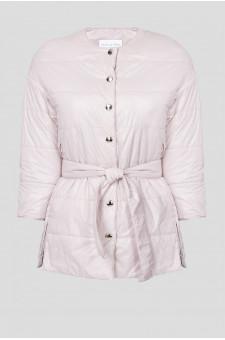 Женская сиреневая куртка