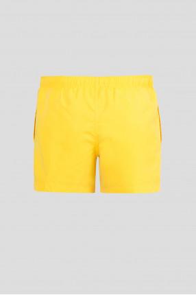 Мужские желтые плавательные шорты 1