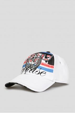 Женская белая кепка 1