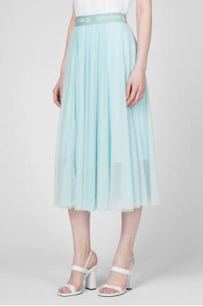Женская голубая юбка 1