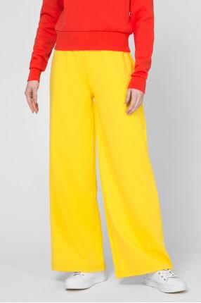 Женские желтые спортивные брюки 1