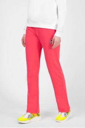 Женские розовые спортивные брюки 1