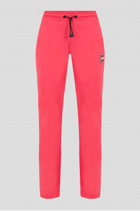 Женские розовые спортивные брюки