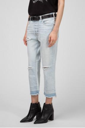 Женские голубые джинсы BRANDO HOOLIGANS 1