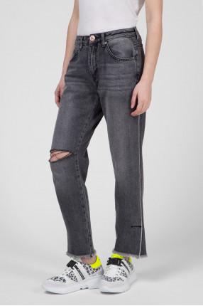 Женские серые джинсы 1
