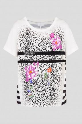 Женская футболка с узором