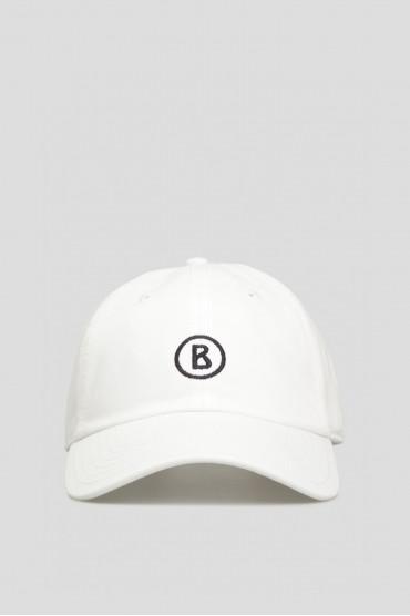 Мужская белая кепка Bogner 9829-M997-031 — Saks 85 93fd207c7152a