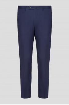 Мужские синие брюки