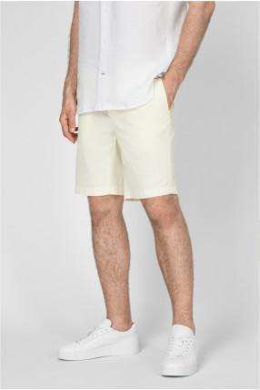 Мужские светло-желтые шорты 1